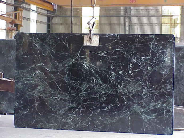 Empress Green Marble Slab quarried from Shi Hwa's Taiwan Quarry