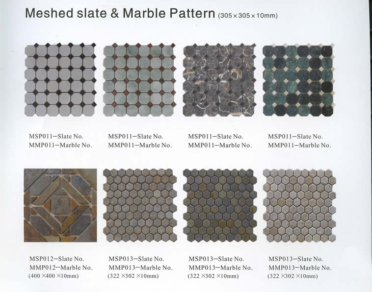 Meshed slate & marble pattern (4)